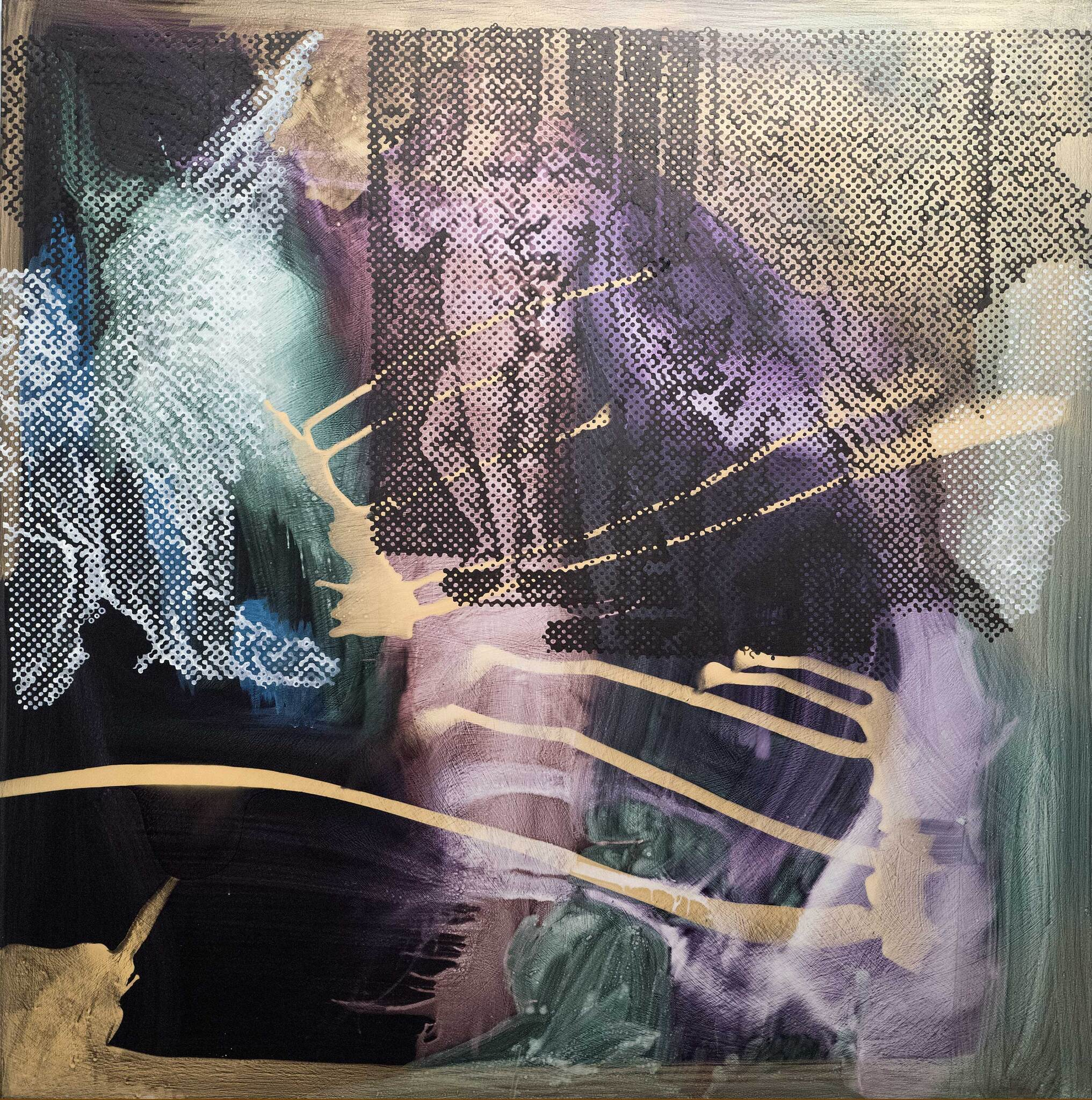 Sigmar Polke: Untitled (Square 2) 2003