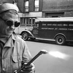 Stanley Kubrick 1948 Man with welding equipment