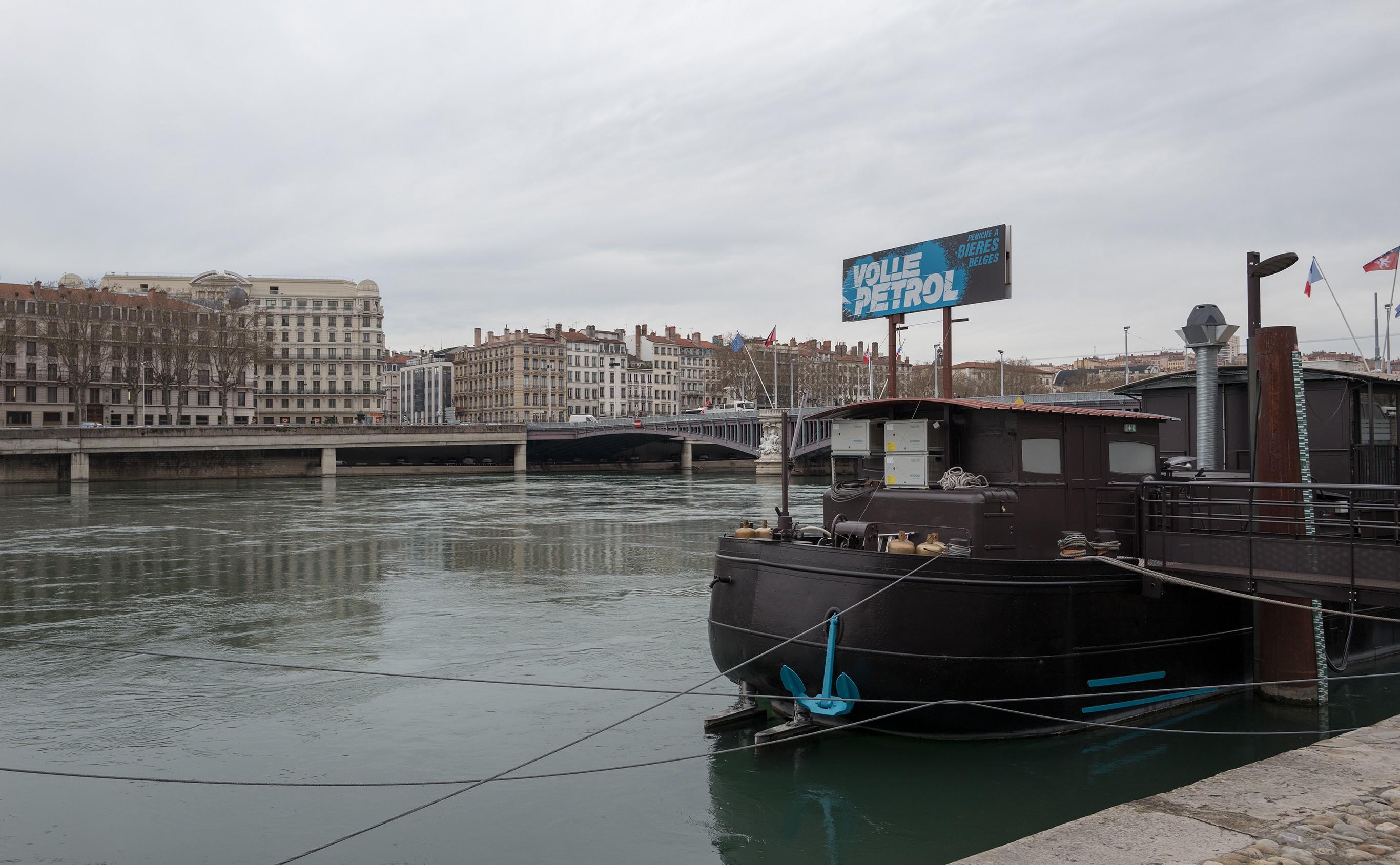 Nos compatriotes au bord du Rhône Lyon